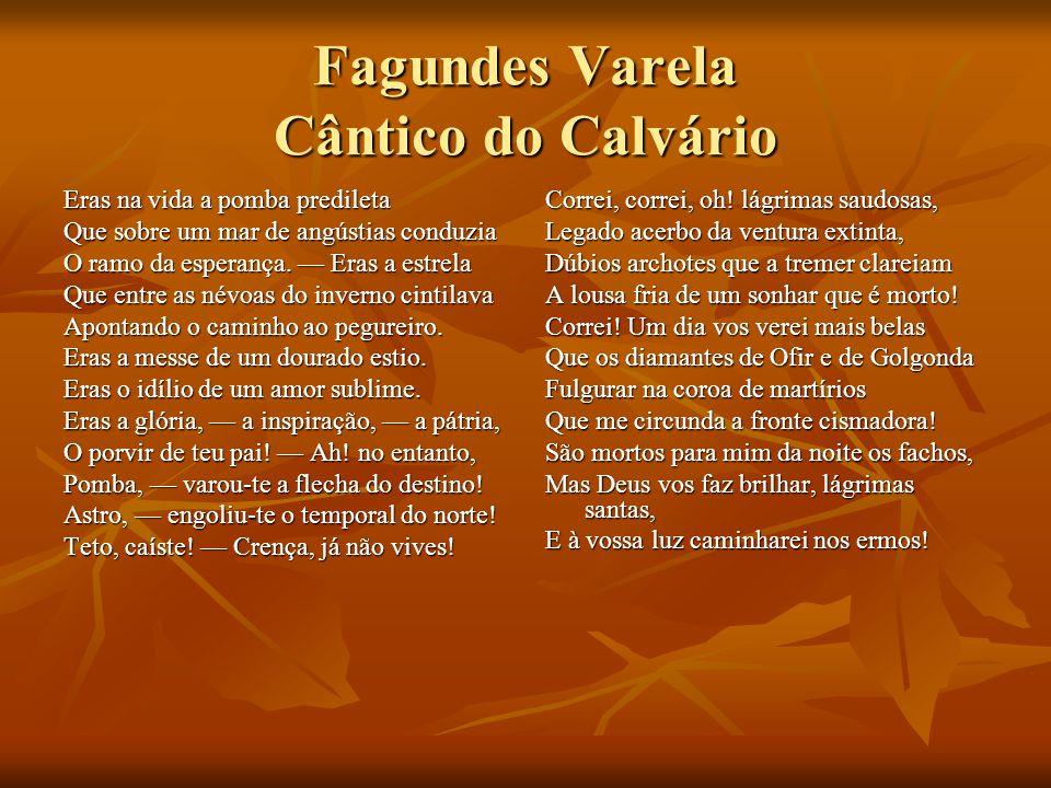 Fagundes Varela Cântico do Calvário