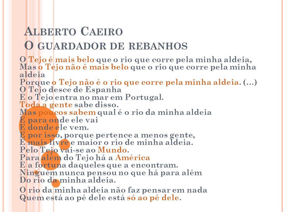 Alberto Caeiro O guardador de rebanhos