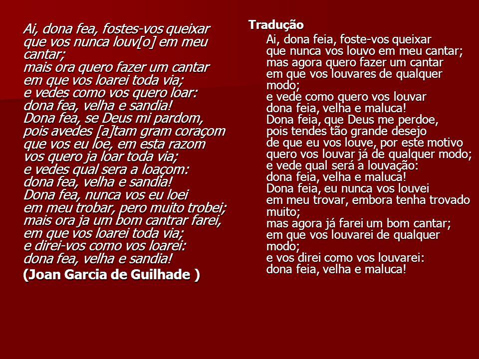 (Joan Garcia de Guilhade )