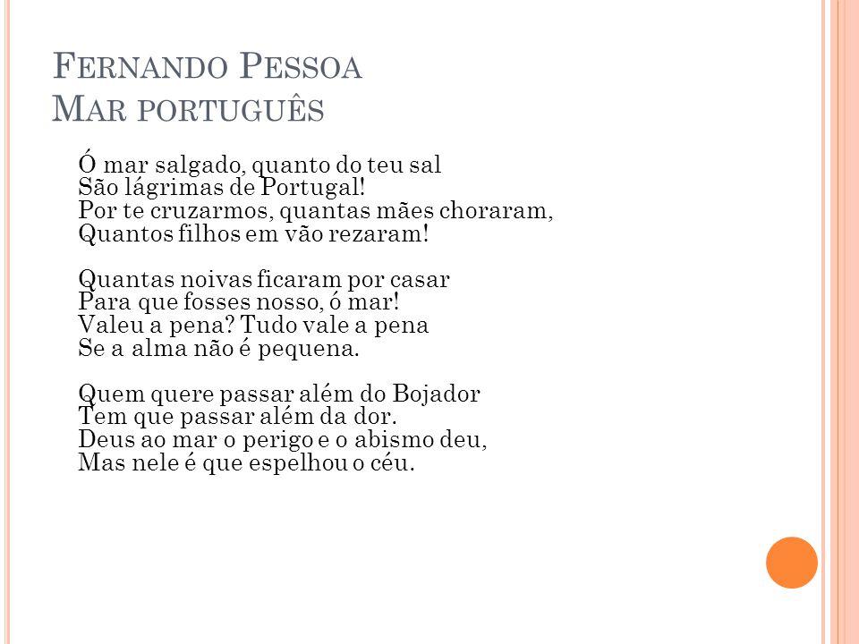 Fernando Pessoa Mar português