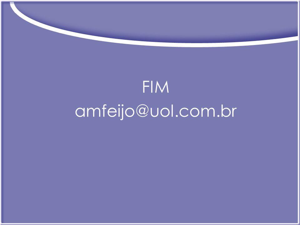 FIM amfeijo@uol.com.br