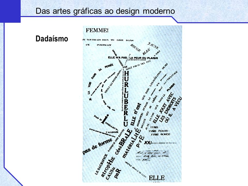 Das artes gráficas ao design moderno