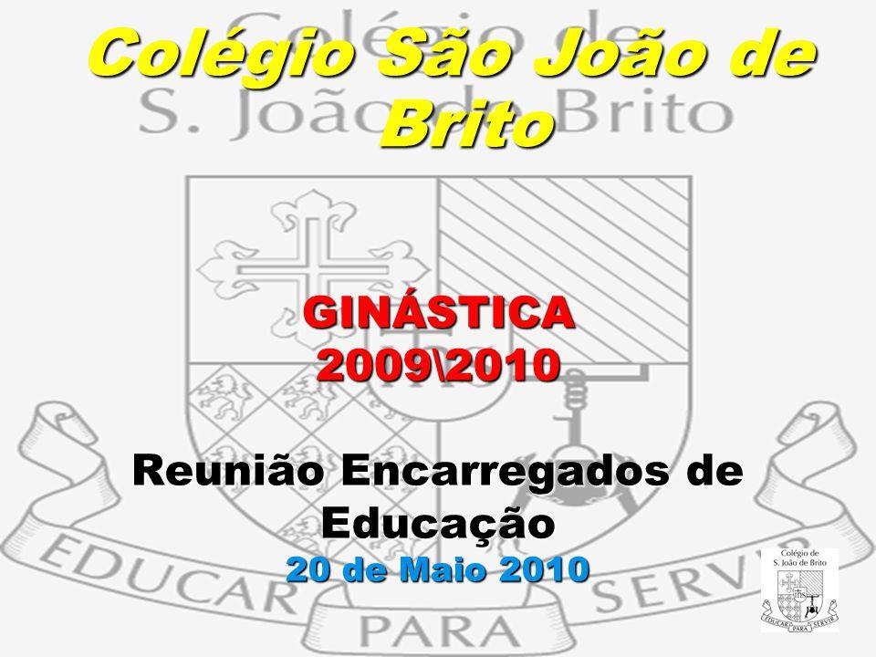 GINÁSTICA 2009\2010 Reunião Encarregados de Educação 20 de Maio 2010