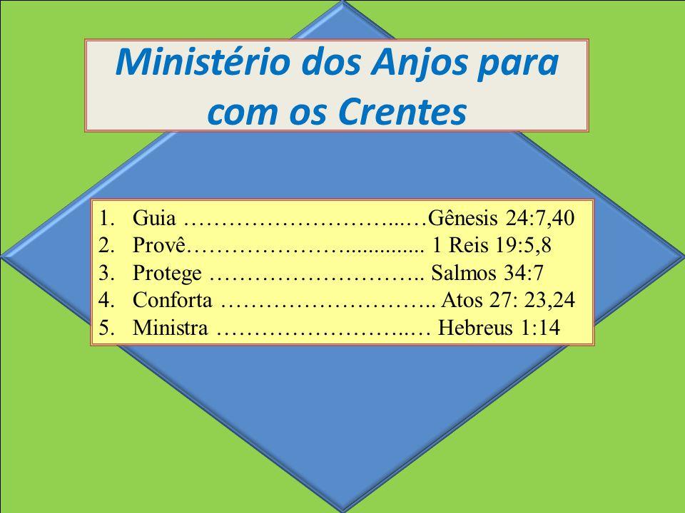 Ministério dos Anjos para com os Crentes