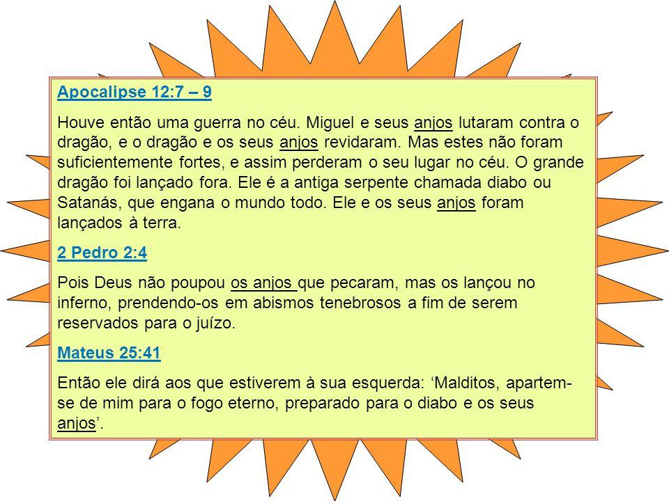 Apocalipse 12:7 – 9