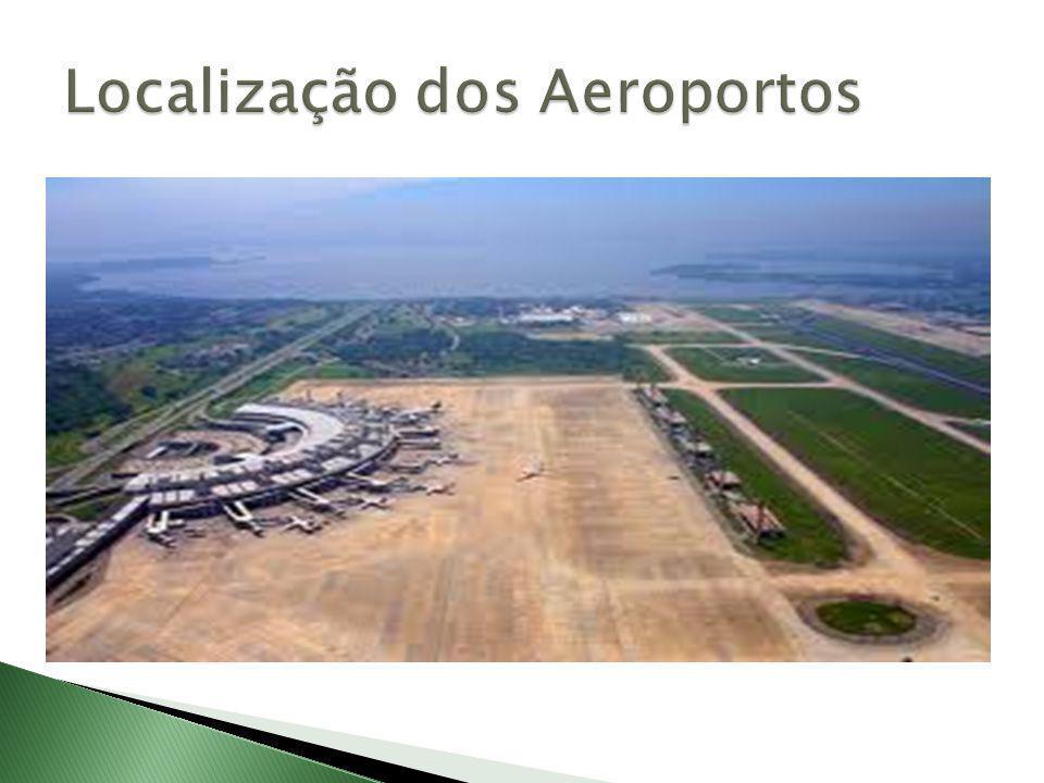 Localização dos Aeroportos