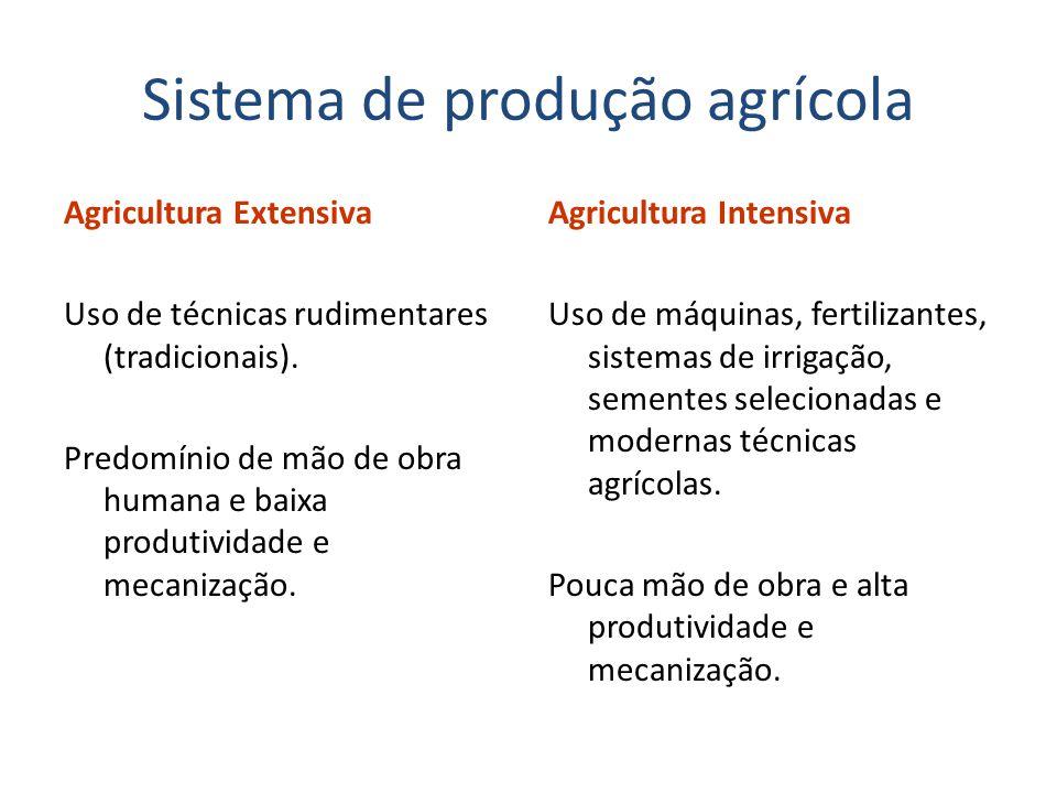 Sistema de produção agrícola