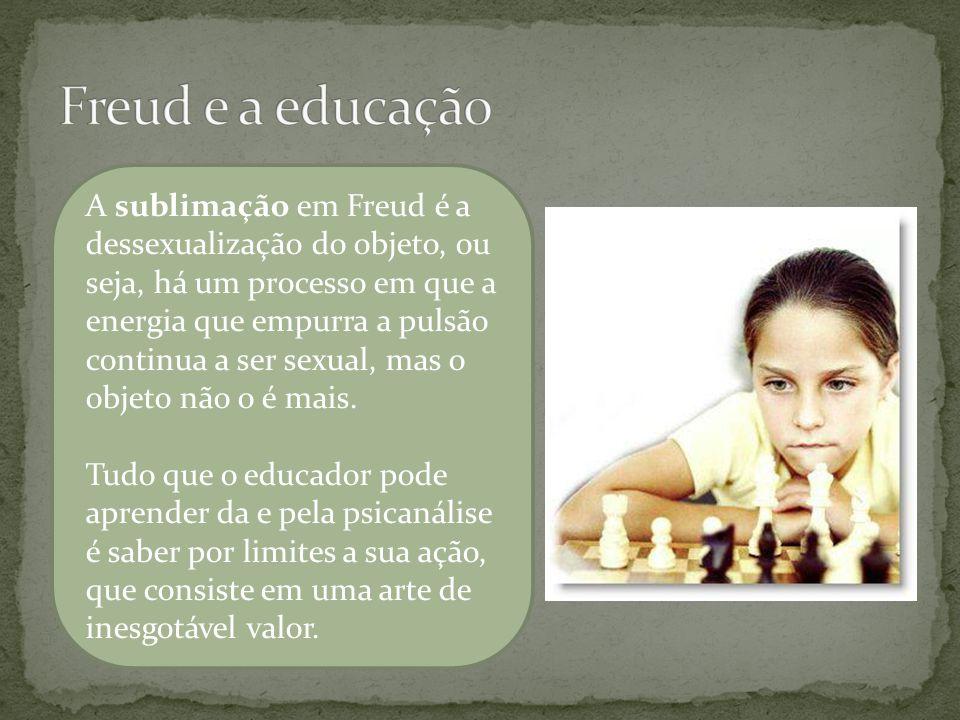 Freud e a educação