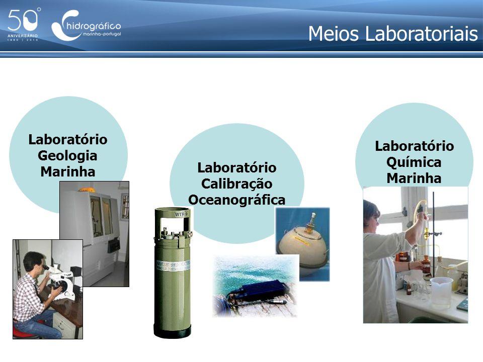 Meios Laboratoriais Laboratório Geologia Laboratório Marinha Química