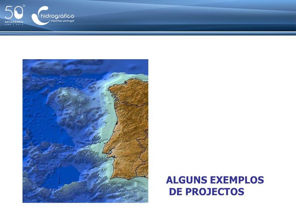 Exemplos de projectos em desenvolvimento