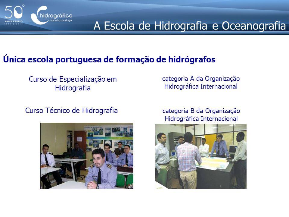 A Escola de Hidrografia e Oceanografia