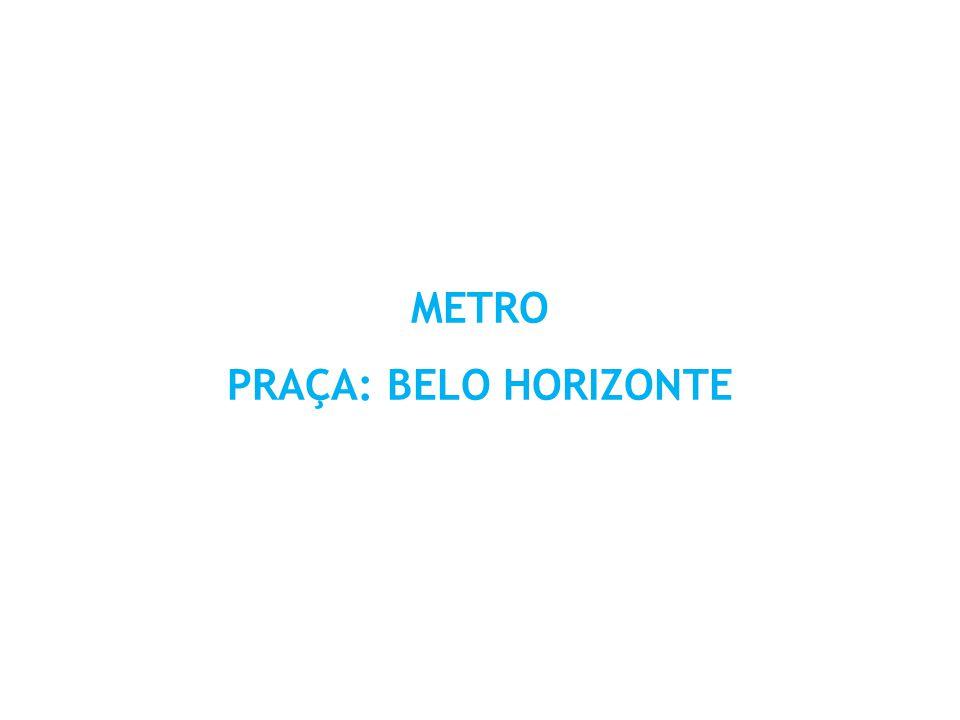 METRO PRAÇA: BELO HORIZONTE