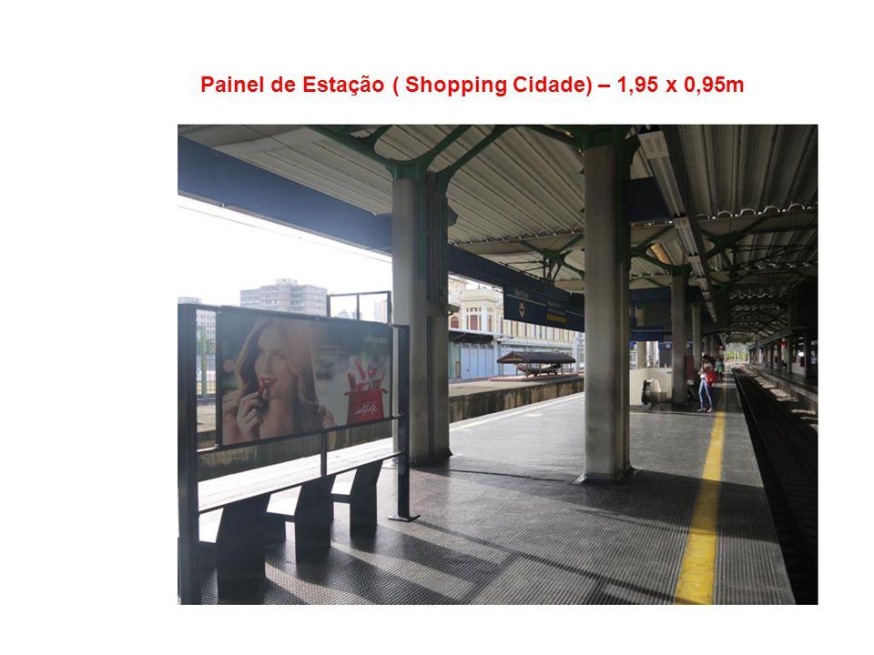 Painel de Estação ( Shopping Cidade) – 1,95 x 0,95m