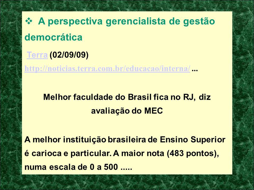 Melhor faculdade do Brasil fica no RJ, diz avaliação do MEC