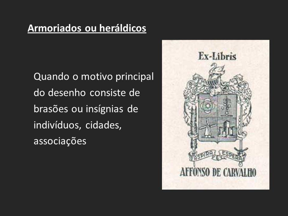 Armoriados ou heráldicos