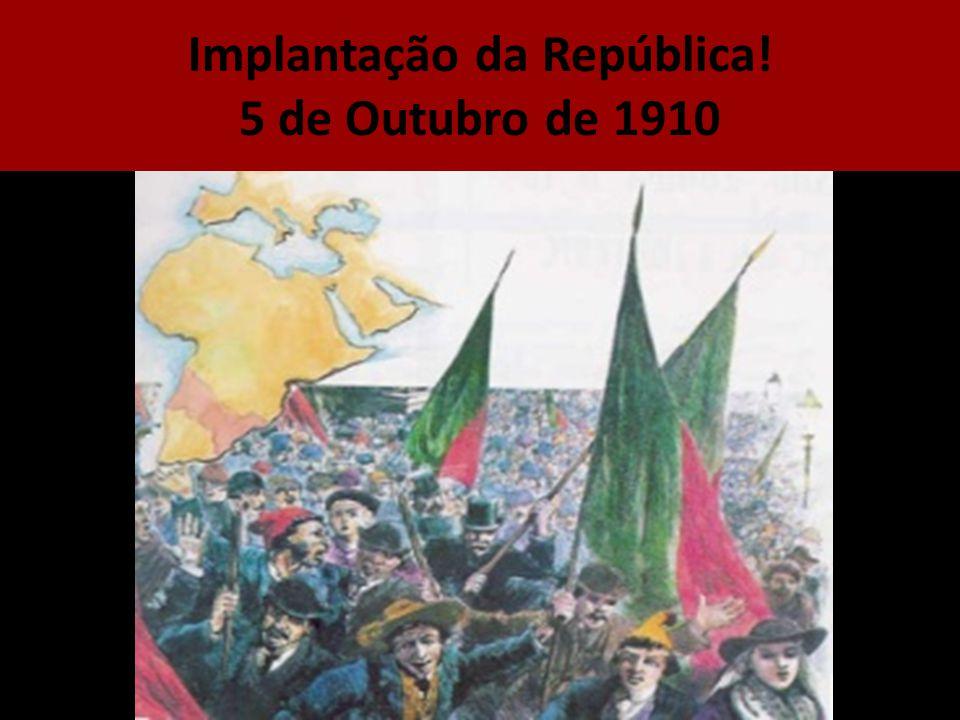 Implantação da República!