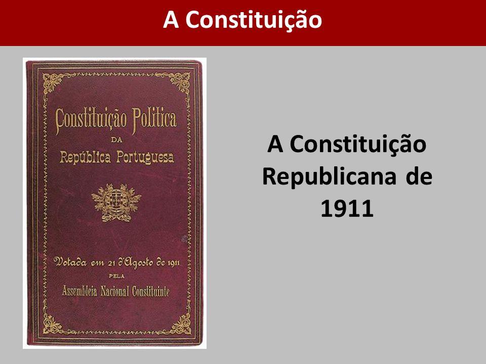 A Constituição Republicana de 1911