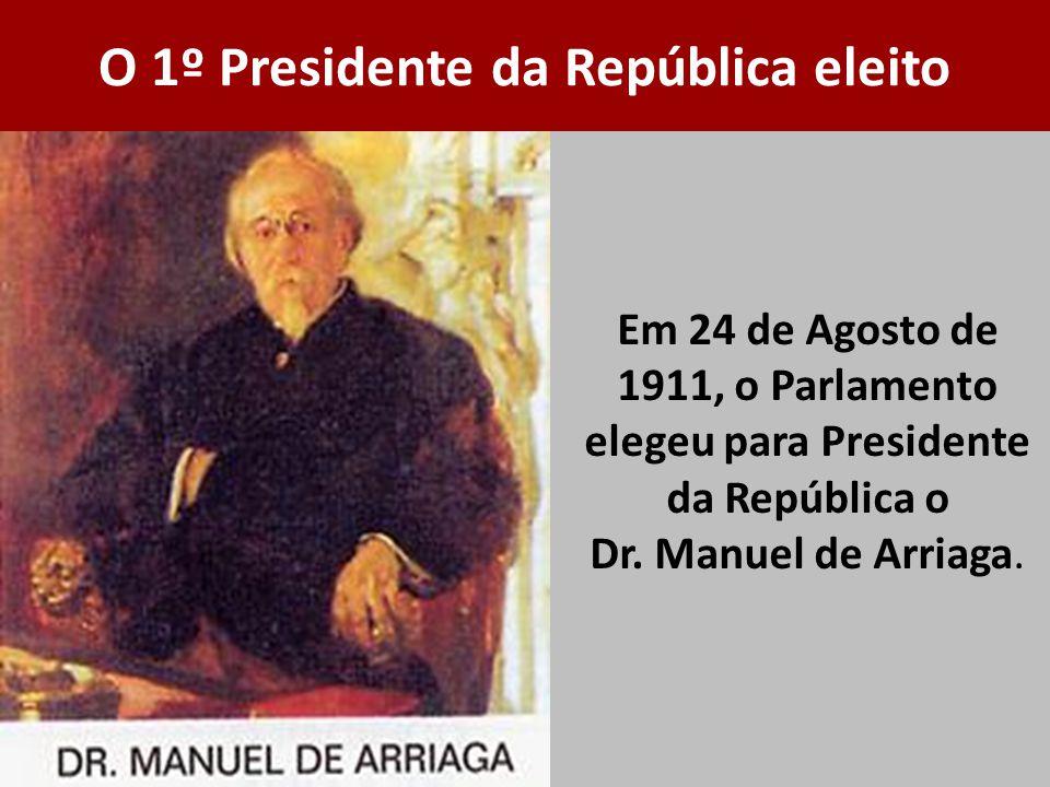 O 1º Presidente da República eleito
