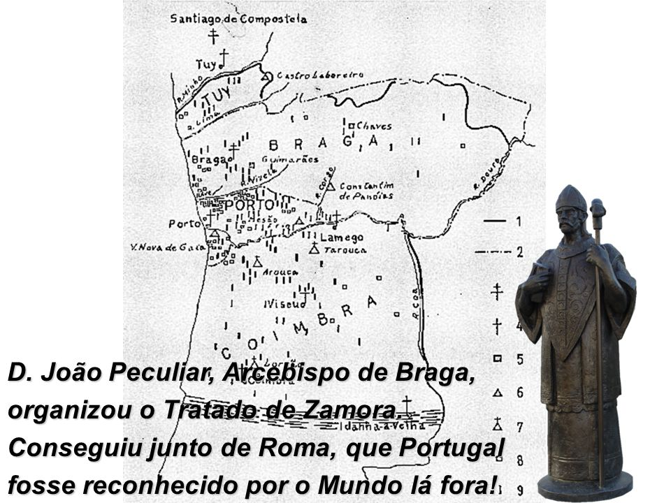 D. João Peculiar, Arcebispo de Braga,