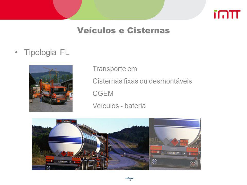 Veículos e Cisternas Tipologia FL Transporte em