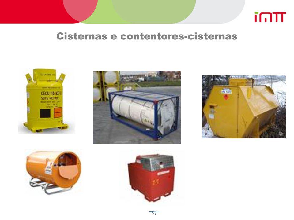 Cisternas e contentores-cisternas