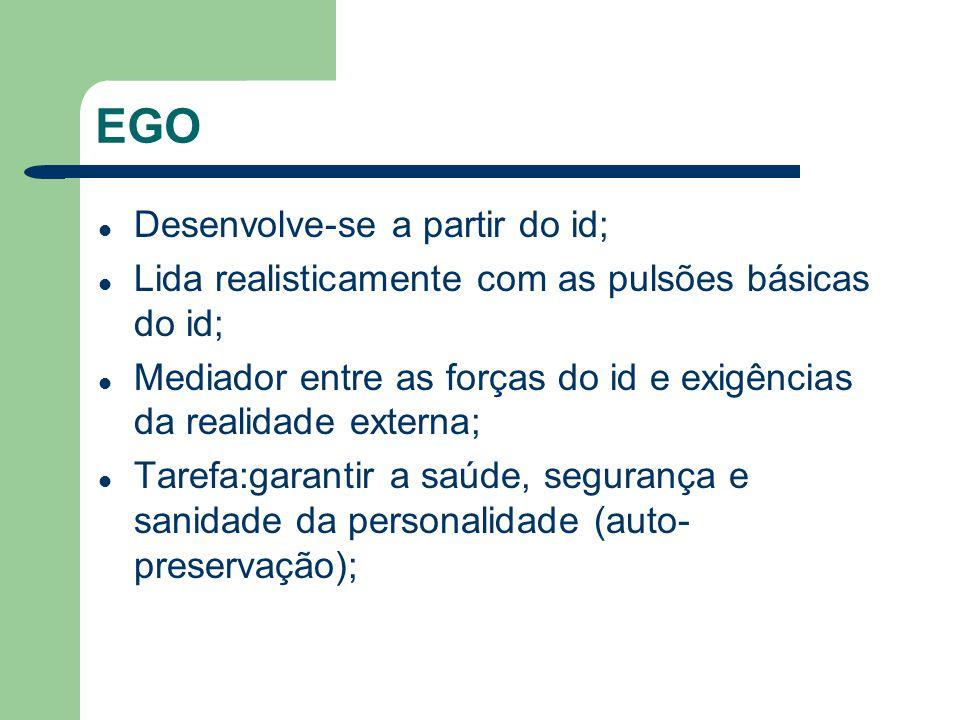 EGO Desenvolve-se a partir do id;