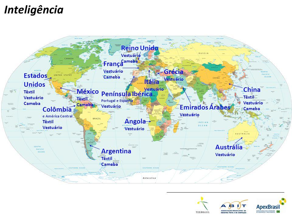 Inteligência Reino Unido França Grécia Estados Unidos Itália China