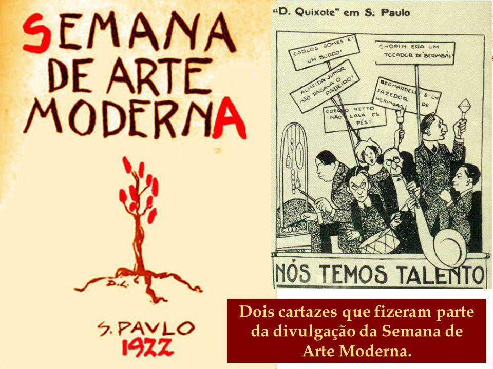 Literatura 1ª Geração do Modernismo no Brasil