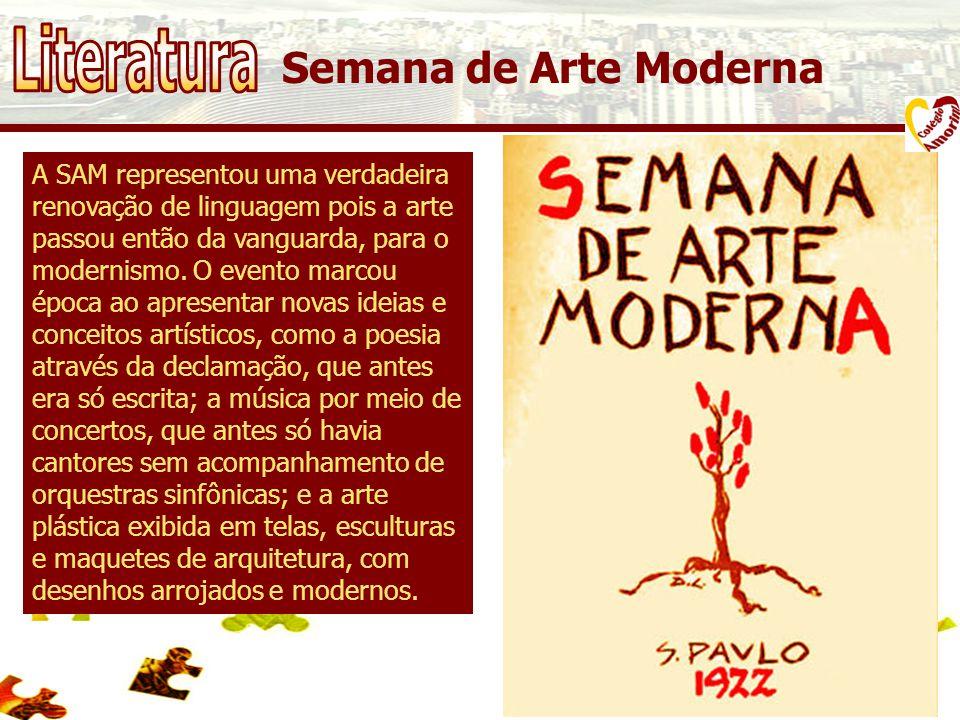 Literatura Semana de Arte Moderna