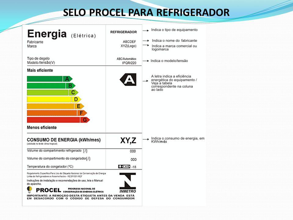 SELO PROCEL PARA REFRIGERADOR