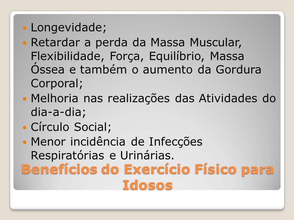 Benefícios do Exercício Físico para Idosos