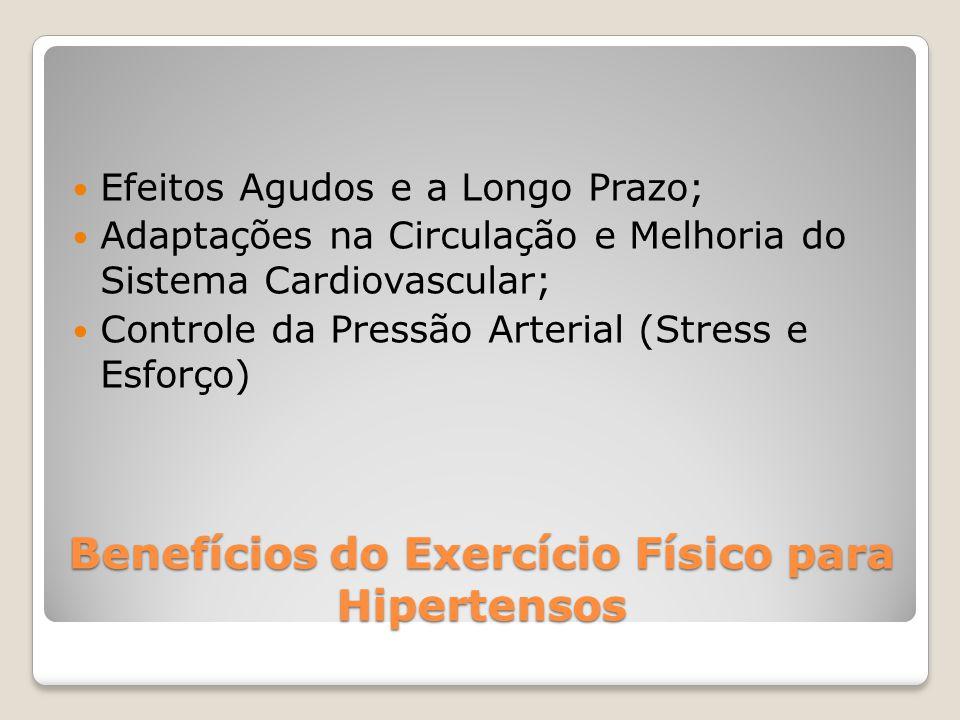 Benefícios do Exercício Físico para Hipertensos