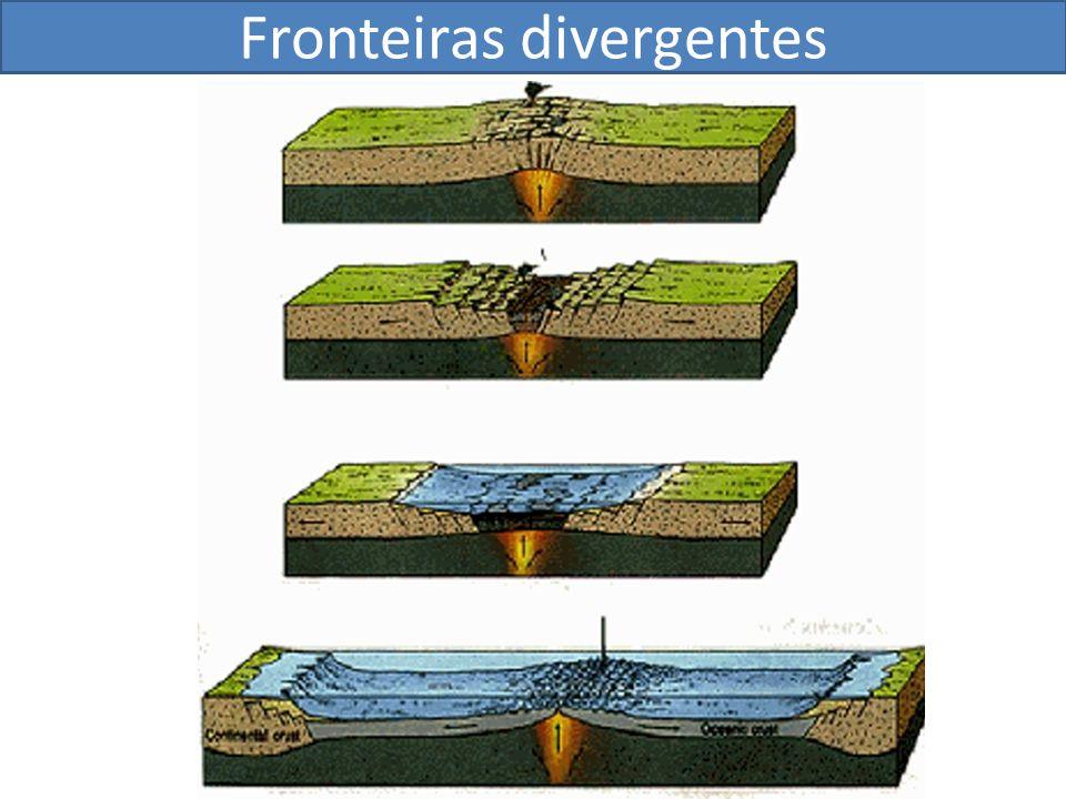 Fronteiras divergentes