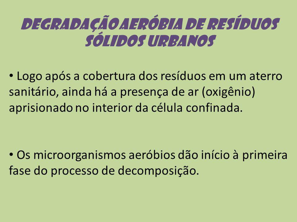Degradação aeróbia de resíduos sólidos urbanos