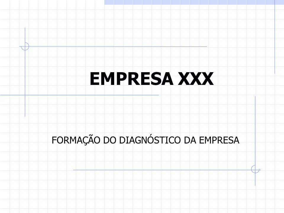 FORMAÇÃO DO DIAGNÓSTICO DA EMPRESA