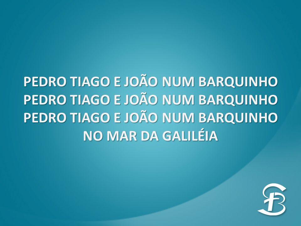PEDRO TIAGO E JOÃO NUM BARQUINHO