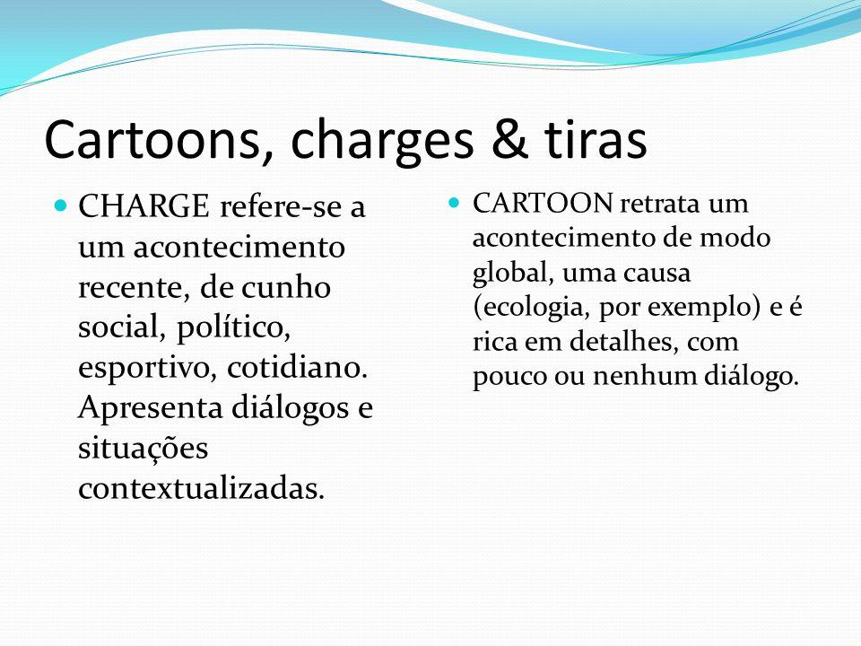 Cartoons, charges & tiras