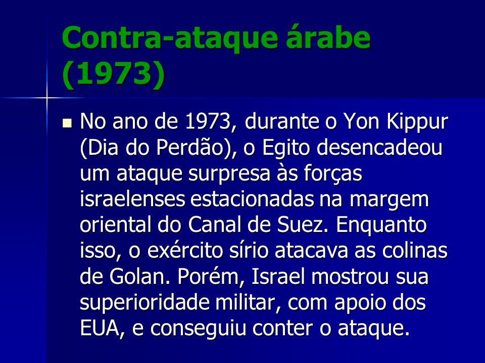 Contra-ataque árabe (1973)