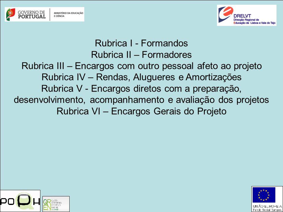 Rubrica II – Formadores