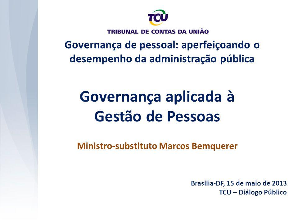 Governança aplicada à Gestão de Pessoas