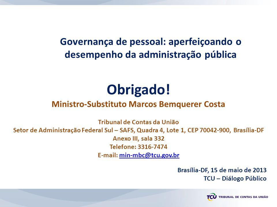 Governança de pessoal: aperfeiçoando o desempenho da administração pública