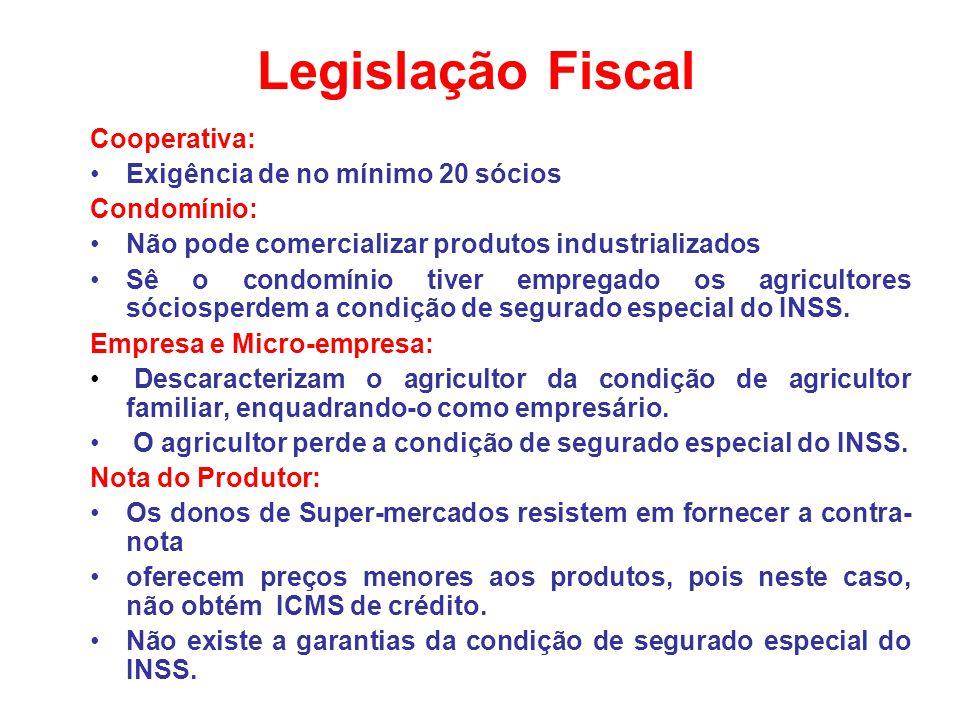 Legislação Fiscal Cooperativa: Exigência de no mínimo 20 sócios