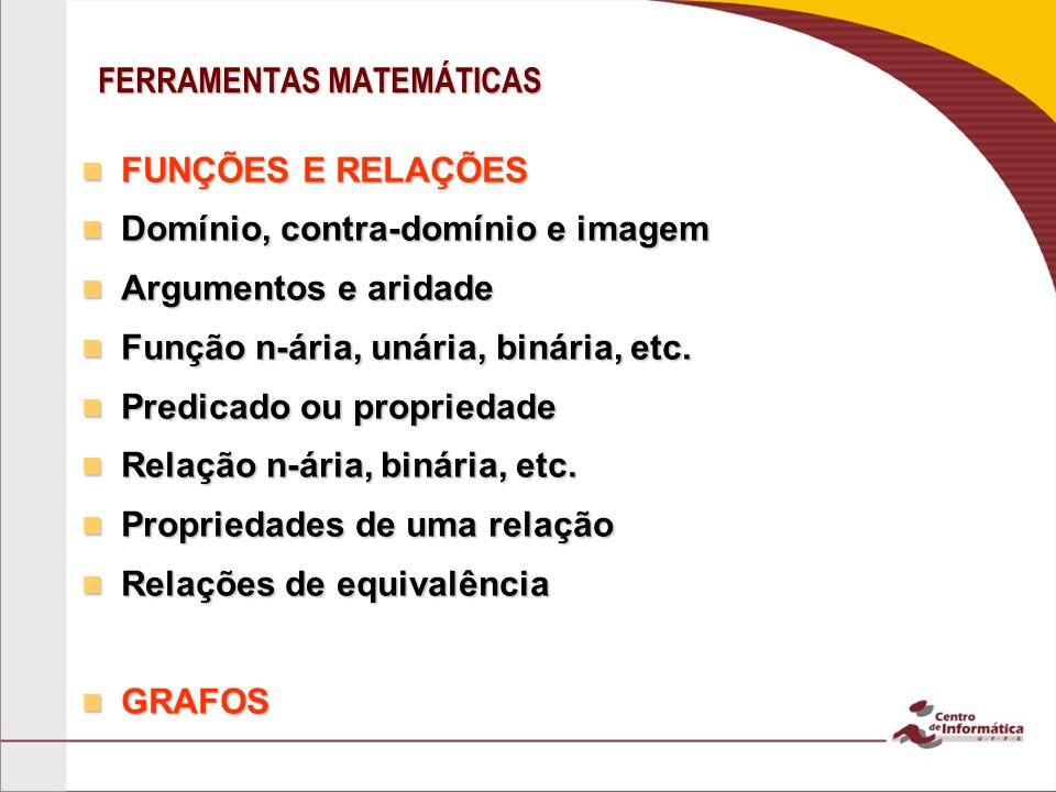 FERRAMENTAS MATEMÁTICAS