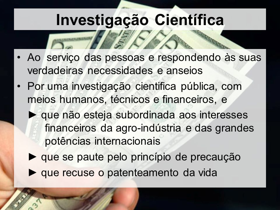 Investigação Científica
