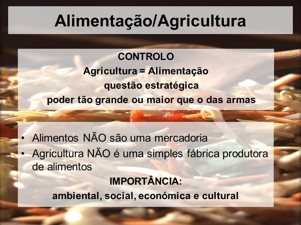 Alimentação/Agricultura