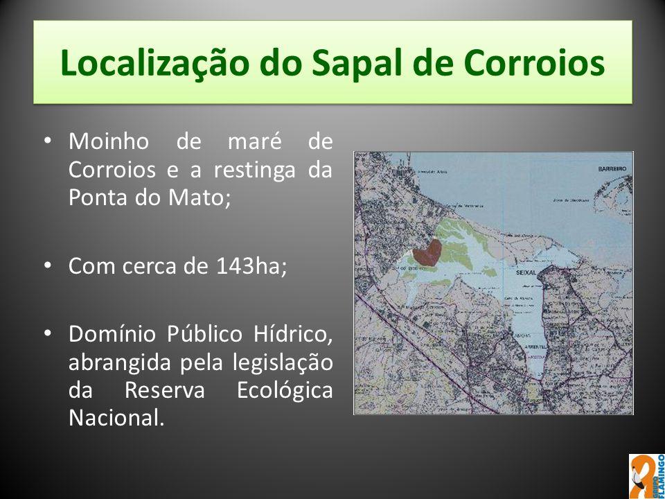 Localização do Sapal de Corroios