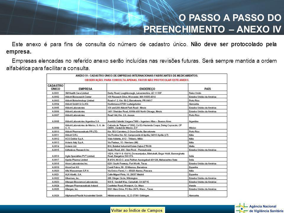 O PASSO A PASSO DO PREENCHIMENTO – ANEXO IV