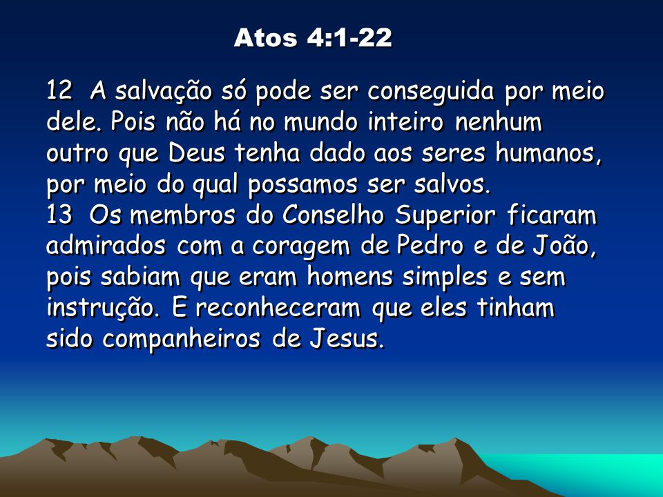 Atos 4:1-22