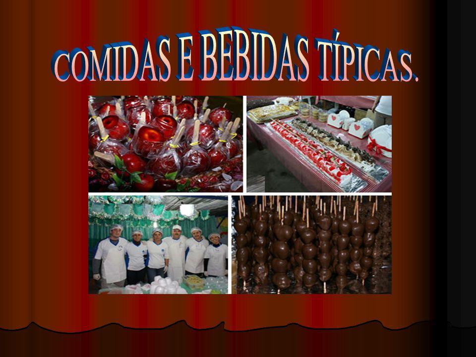 COMIDAS E BEBIDAS TÍPICAS.
