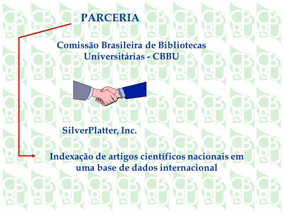Comissão Brasileira de Bibliotecas Universitárias - CBBU